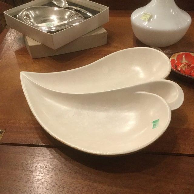 Mid-Century Ceramic Leaf Bowl - Image 2 of 4