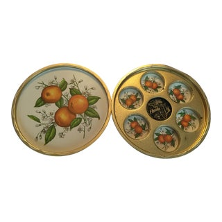 1950s Vintage Florida Trays - a Pair For Sale