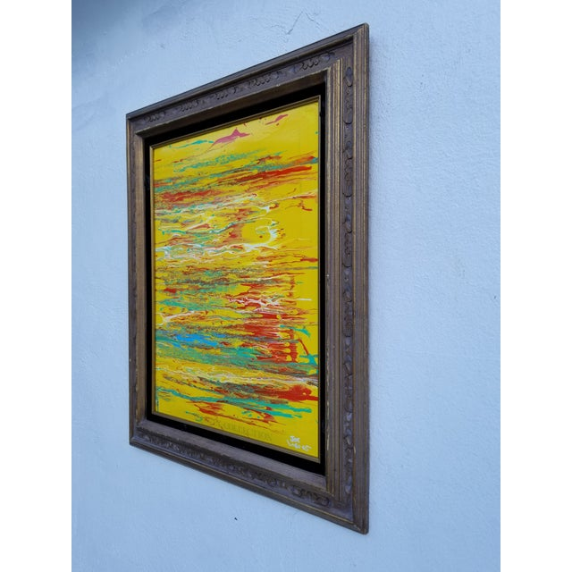 Abstract Contemporary Abstract Expressionist Painting For Sale - Image 3 of 10
