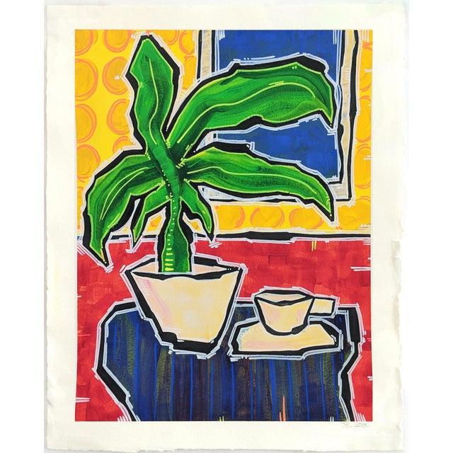 """No Surprises"" Original Artwork by Jonjo Elliott For Sale In Los Angeles - Image 6 of 6"