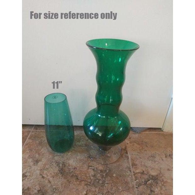 Blenko Blenko Art Glass Floor Vase For Sale - Image 4 of 5