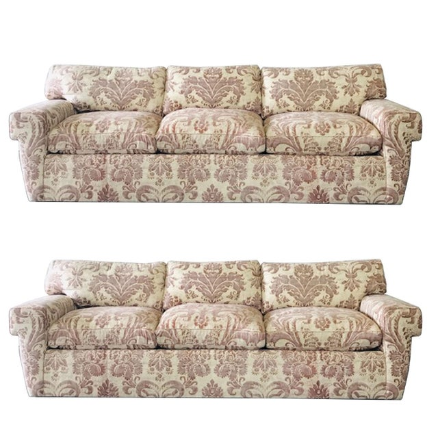 Custom Fortuny Sofa, Two Available For Sale - Image 13 of 13