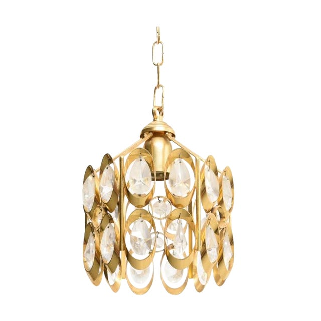 Jewel Chandelier Designed by Palwa For Sale