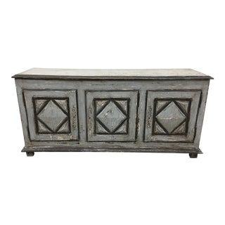 18th C French Painted Enfilade Sideboard Credenza For Sale
