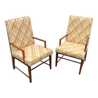 Thomasville MCM Founders Arm Chairs - a Pair
