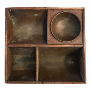 Copper Lined Cash Drawer Box For Sale