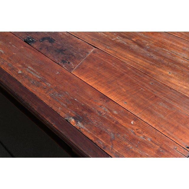 19th C. Portuguese Rosewood Dining Table For Sale - Image 9 of 11