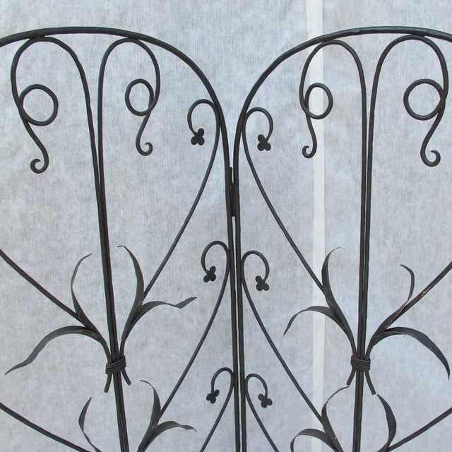 Early 20th-C. Wrought Iron Screen - Image 3 of 9