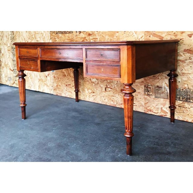 Traditional Mid 19th Century Antique Desk For Sale - Image 3 of 4
