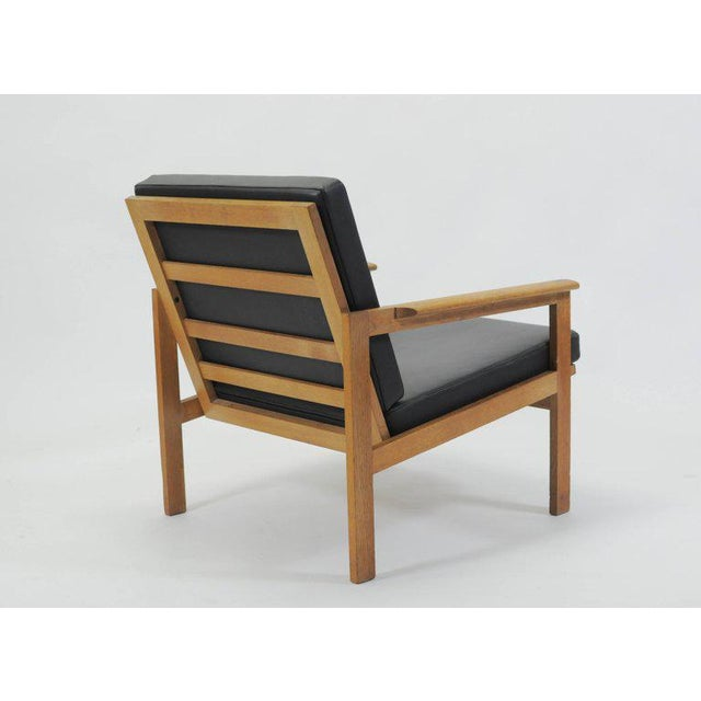 1960s Illum Wikkelsø Danish Capella Lounge Chair For Sale In Madison - Image 6 of 9