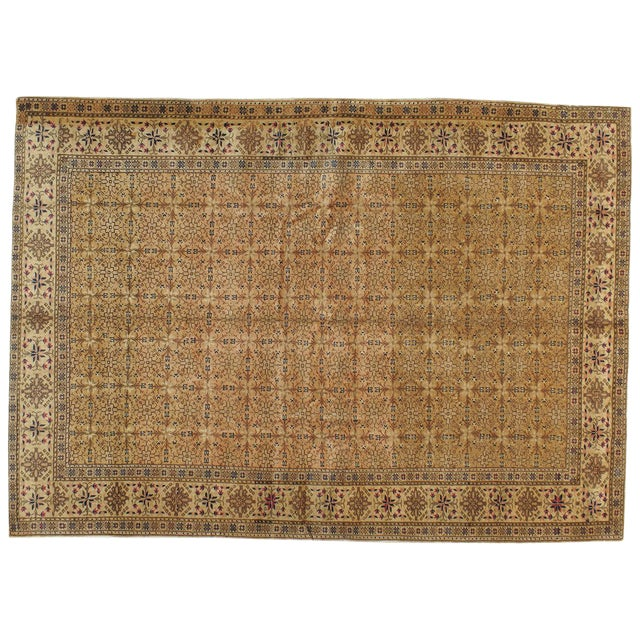 "Vintage Turkish Sivas Rug - 6'8"" X 9'3"" - Image 1 of 3"