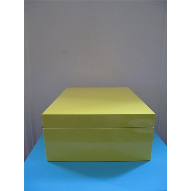 Lacquer Jewelry Box - Image 3 of 5