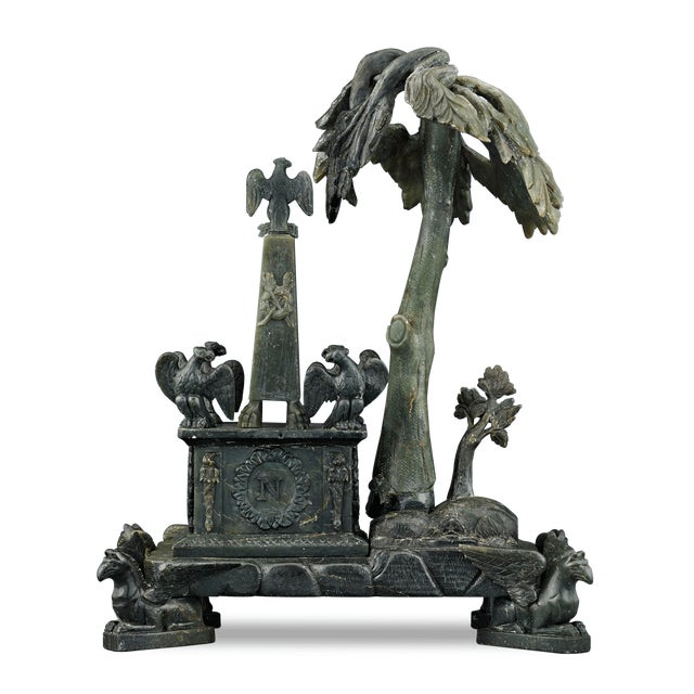 Nephrite Napoleonic Tomb Sculpture For Sale - Image 4 of 8