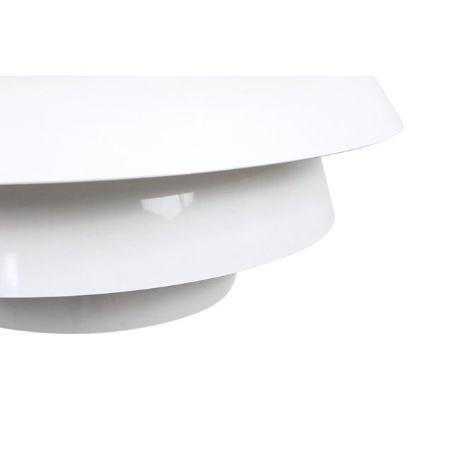 White Poul Henningsen Snowball Pendant For Sale - Image 8 of 13