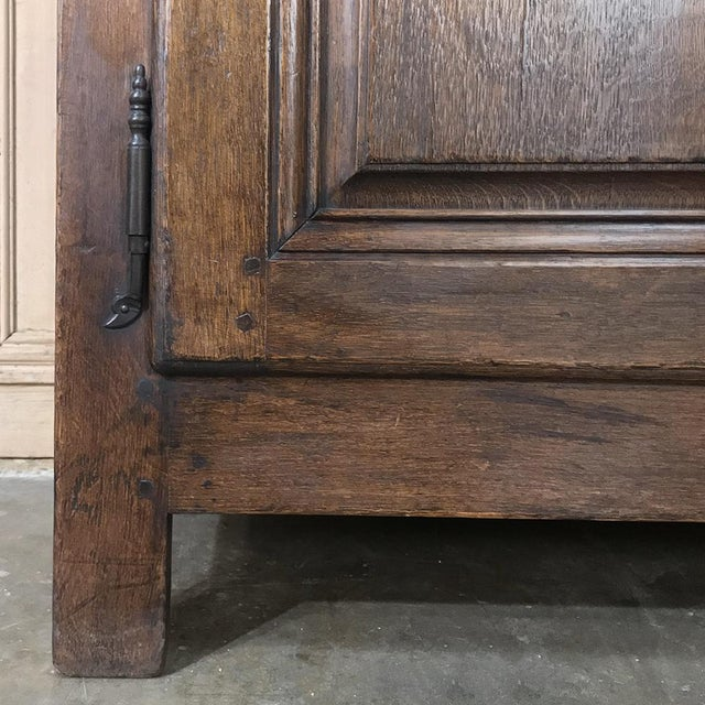 18th Century Country French Provincial Low Buffet For Sale - Image 10 of 13