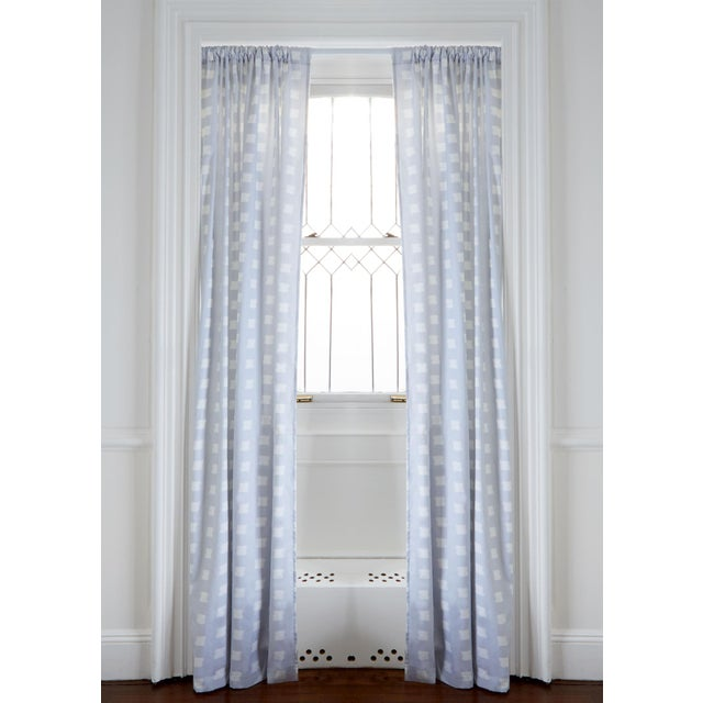 """Pepper Denton 50"""" x 84"""" Blackout Curtains - 2 Panels For Sale - Image 4 of 4"""