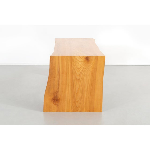 Elm Contemporary It Elmwood Bench For Sale - Image 7 of 12