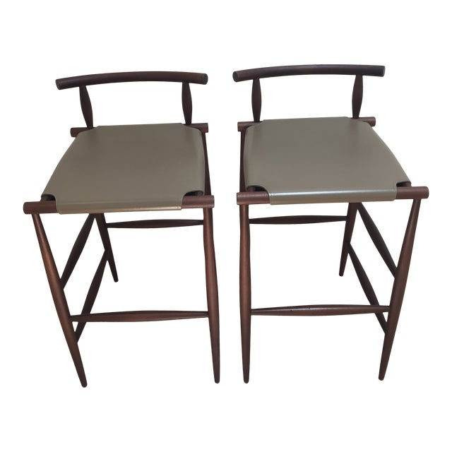 Prime Italian Modern Bar Stools A Pair Bralicious Painted Fabric Chair Ideas Braliciousco