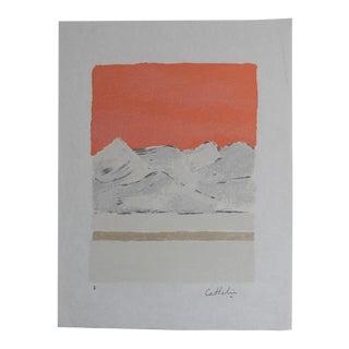 "1980s Bernard Cathelin ""Haiku"" Lithograph Print For Sale"