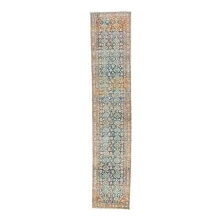 """1930s Hand-Knotted Runner - 3'4"""" X 16'5"""" For Sale"""