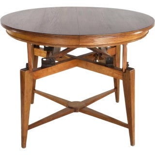 1950s Marcel Gascoin Mid-Century Adjustable Table For Sale