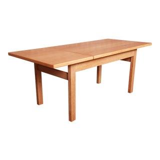 Hans J. Wegner for Getama Danish Modern Oak Coffee Table, 1960s For Sale