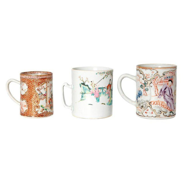 Late 18th Early 19th Century Chinese Export Mugs / Tankards For Sale - Image 13 of 13
