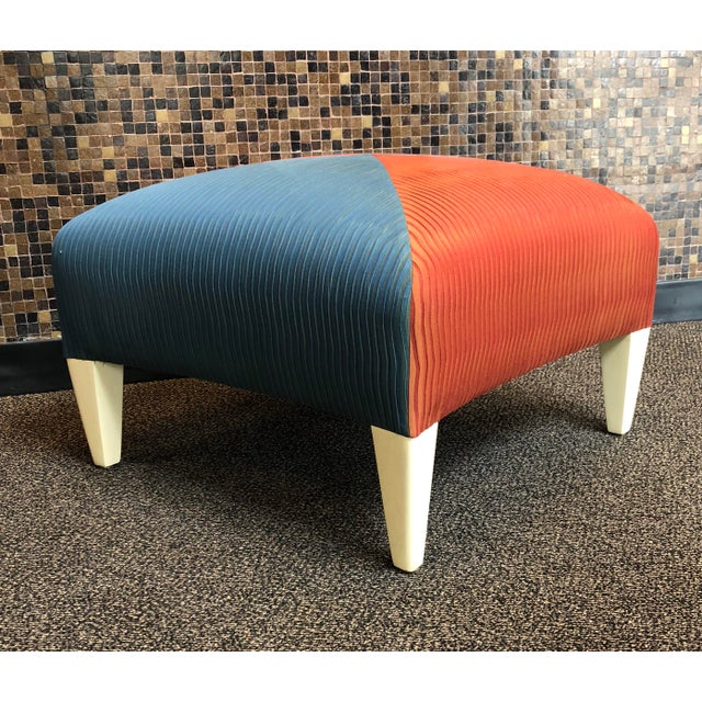 Modern Donghia Square Ottoman For Sale - Image 3 of 8
