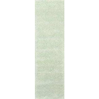 """Madcap Cottage Roman Holiday via Del Corso Green Area Rug 2'3"""" X 8' Runner For Sale"""