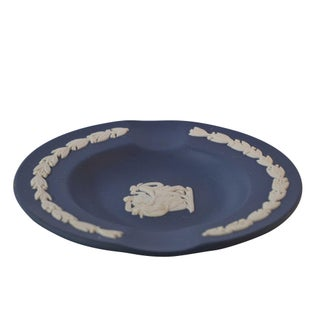 Vintage Wedgwood Jasperware Ashtray Navy Color Preview