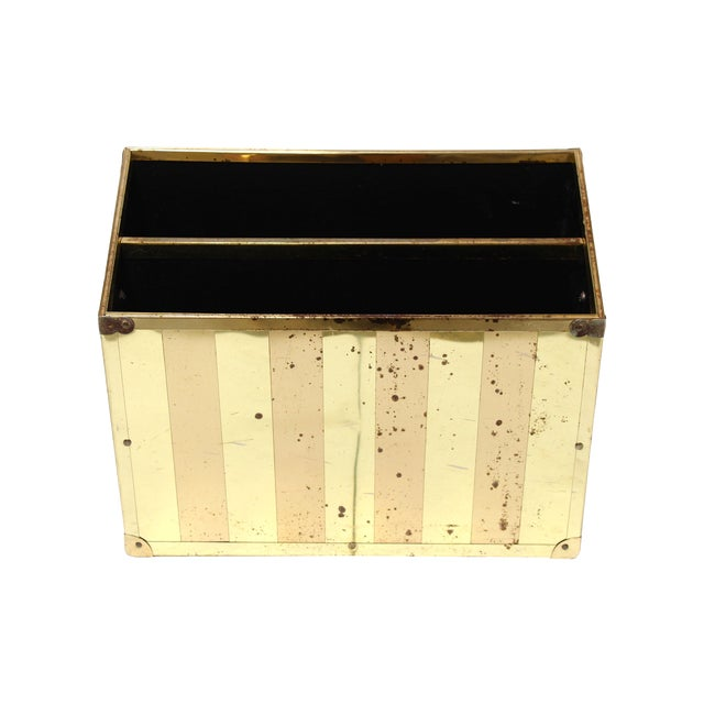 Brass Campaign-Style Magazine Holder - Image 1 of 5