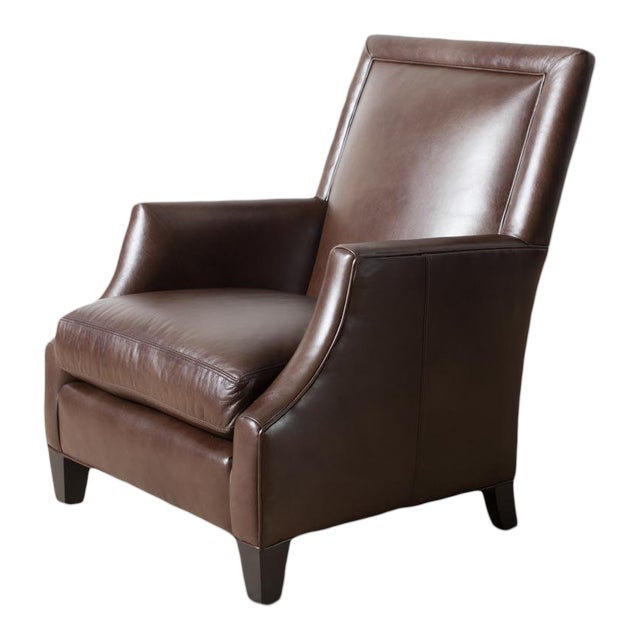 Remy Leather Armchair For Sale
