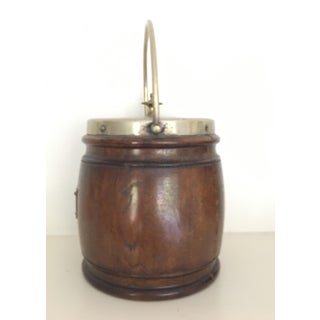 Late 19th Century English Oak Biscuit Barrel Preview