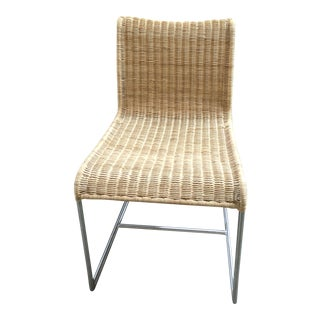 Supper Boondoot (Natural) Rattan Side Chair For Sale