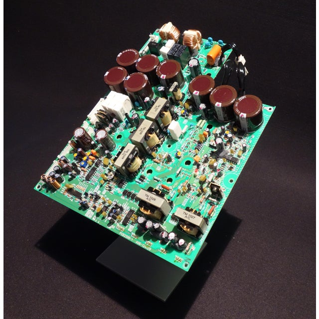 Metal Component Art Sculpture of Mid 20th Century Video Processing Circuitry For Sale - Image 7 of 7