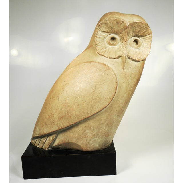 Vintage Mid-Century Austin Productions Owl Sculpture - Image 2 of 6