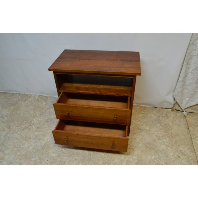 Wood Stickley Bedside End Side Table Nightstand For Sale - Image 7 of 12