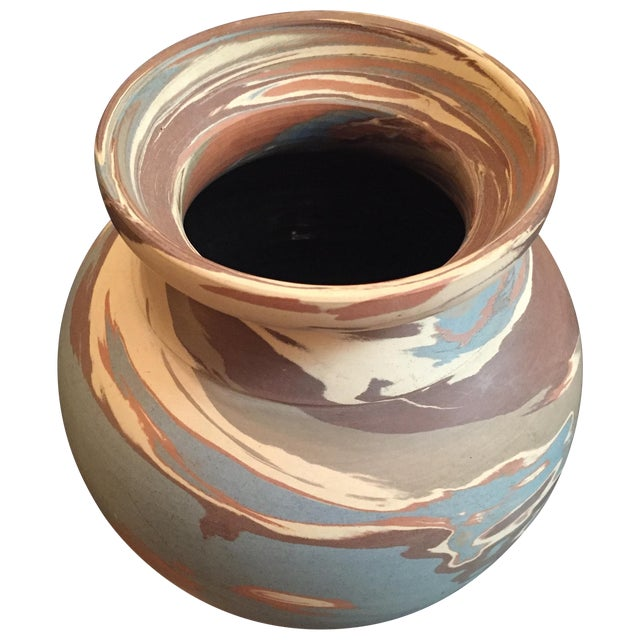 Niloak Mission Swirl Pottery Vase - Image 1 of 6