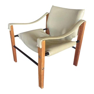 1970s Safari Club Chair Designed by Maurice Burke for Arkana For Sale