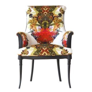 London Calling Upholstered Armchair For Sale