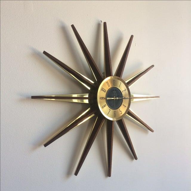 Welby Atomic Starburst Clock - Image 3 of 7