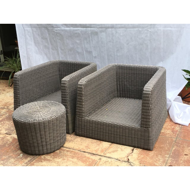 Patio Furniture by Janus Et Cie- 3 Pieces For Sale In West Palm - Image 6 of 12
