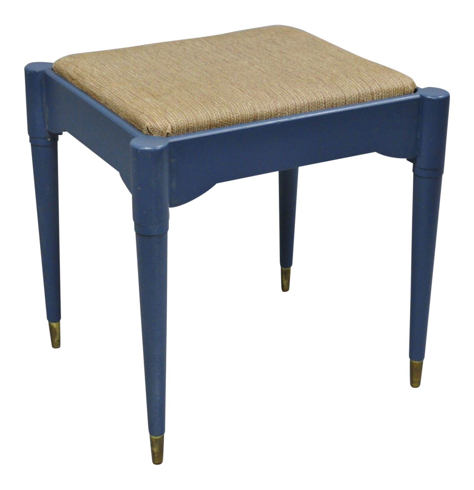 Vintage Mid-Century Modern Danish Style Blue Painted Piano Bench With Sewing Storage  sc 1 st  Chairish & Vintage u0026 Used Storage Benches for Sale   Chairish