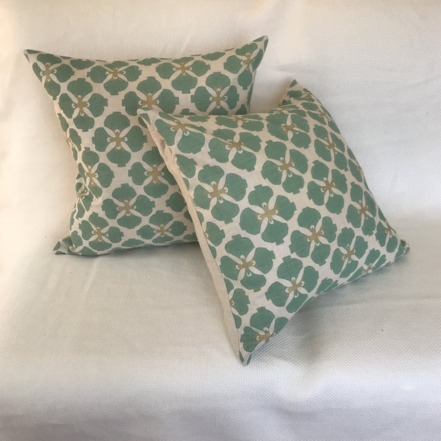 Galbraith & Paul Linen Pillows - A Pair For Sale In New York - Image 6 of 7