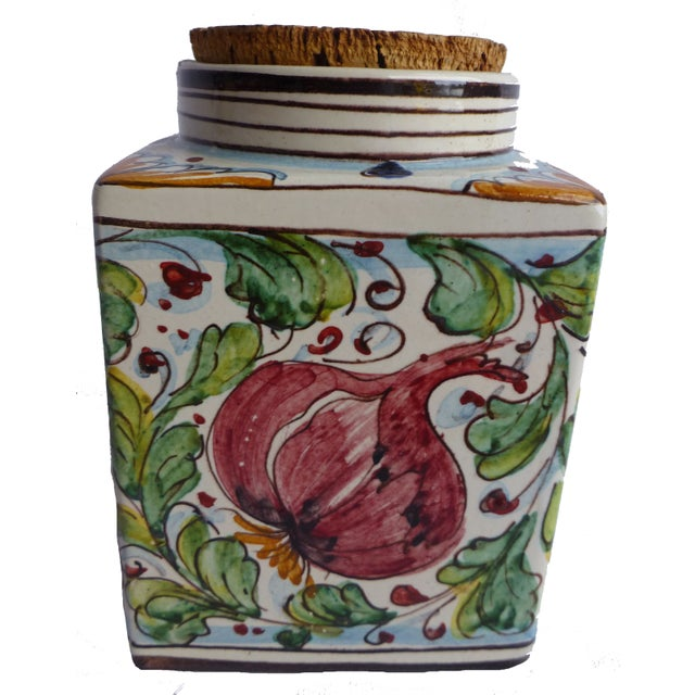 Mid-Century French Ceramic Jar - Image 2 of 4