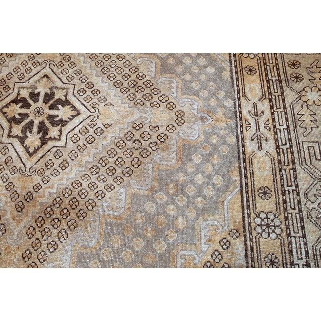 1900s Handmade Antique East Turkestan Khotan Rug 6.1' X 11.9' For Sale - Image 10 of 12