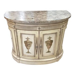 Folk Art Furgeson Copeland Cabinet For Sale