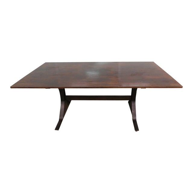 Frattini Italian Rosewood Dining Table - Image 9 of 9