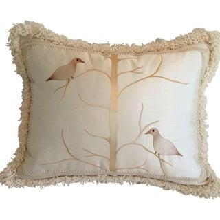 Beacon Hill Birds on Branch Pillow
