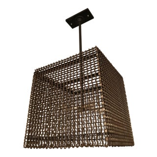 Industrial Conveyor Chandelier
